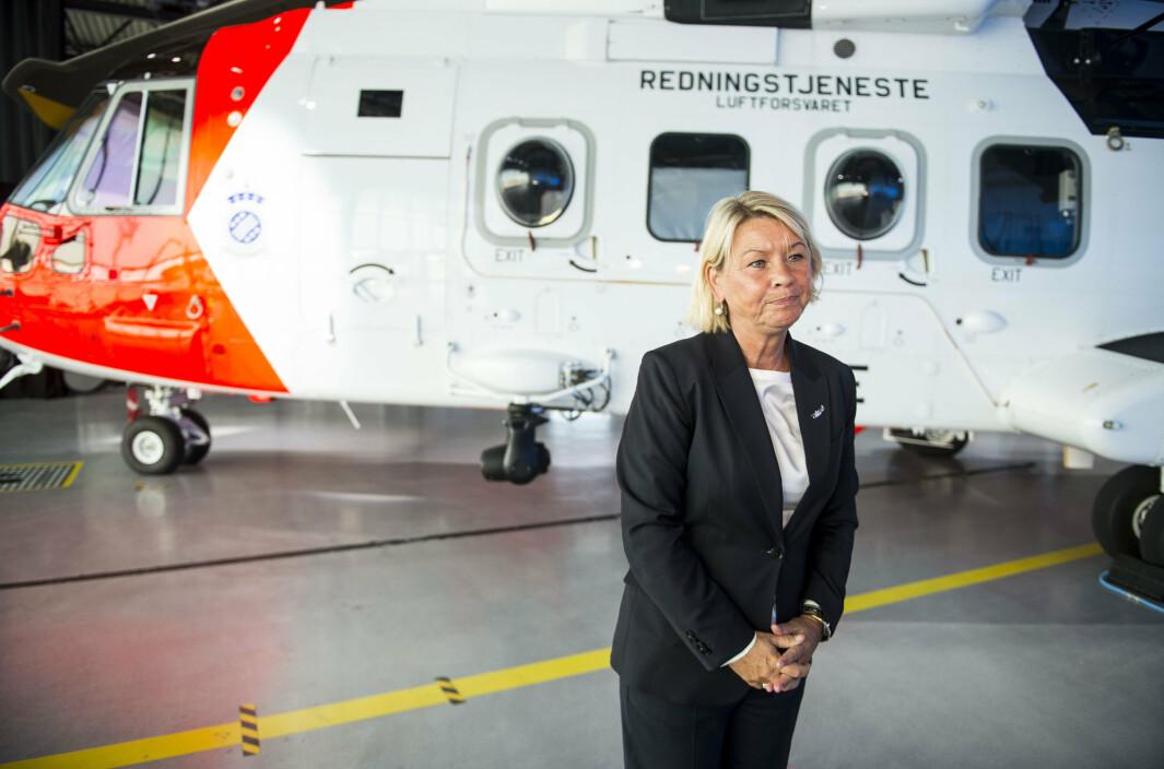 – Med innfasingen av nye redningshelikoptre på basene i Bodø og på Banak vil den sjuende basen i Troms gi en betydelig styrket helikopterkapasitet i nord, sier justis- og beredskapsminister Monica Mæland (H).