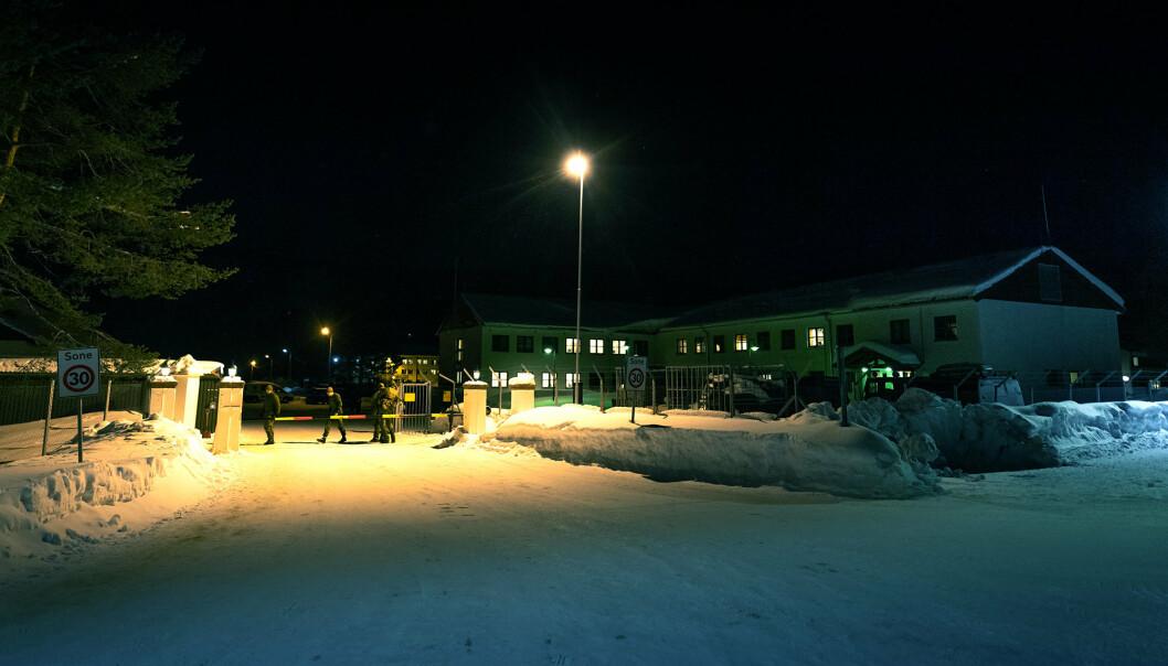 Skjold leir i Indre Troms.