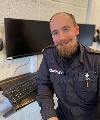 Velferdsoffiser Håvard Merødningen