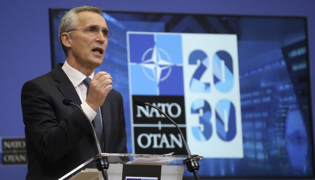 VIL ENDRE: 15. februar holdt Jens Stoltenberg pressekonferanse om sine forslag til endringer av Nato.