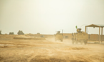 FOH: For tidlig å si om angrepet vil få konsekvenser for beredskapsnivået i Irak