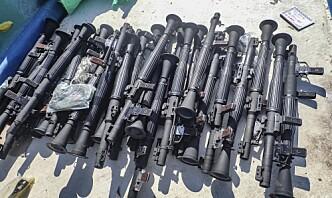 Våpenlast stanset utenfor kysten av Somalia