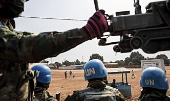 FNs generalsekretær vil sende flere soldater til Den sentralafrikanske republikk
