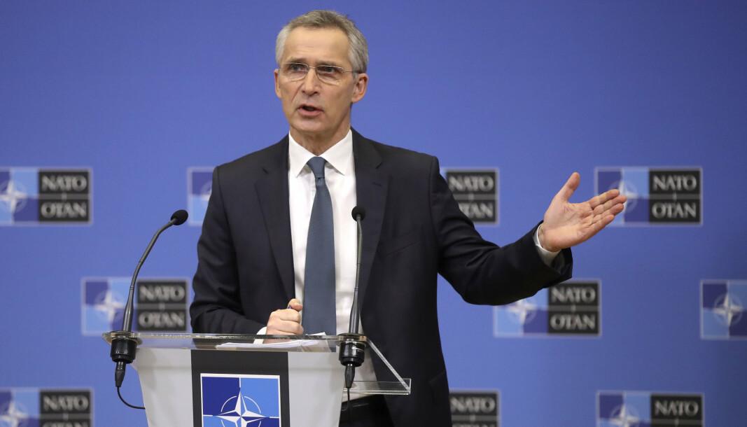 HAST: Nato-sjef Jens Stoltenberg har kalt inn til hastemøte.