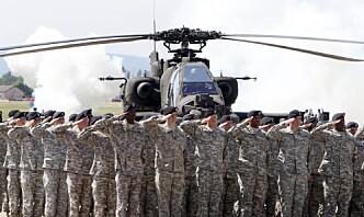 Anslagsvis en tredel i det amerikanske militæret takker nei til koronavaksine