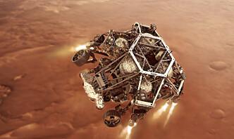Landingen gikk etter planen for Nasas nye Mars-rover