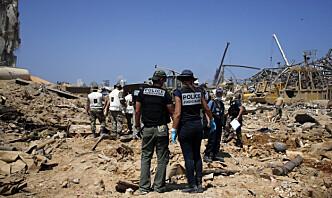Dommer som ledet Beirut-gransking avsatt