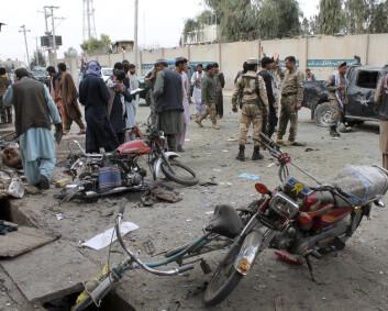 Minst tre drept av bomber i Afghanistan