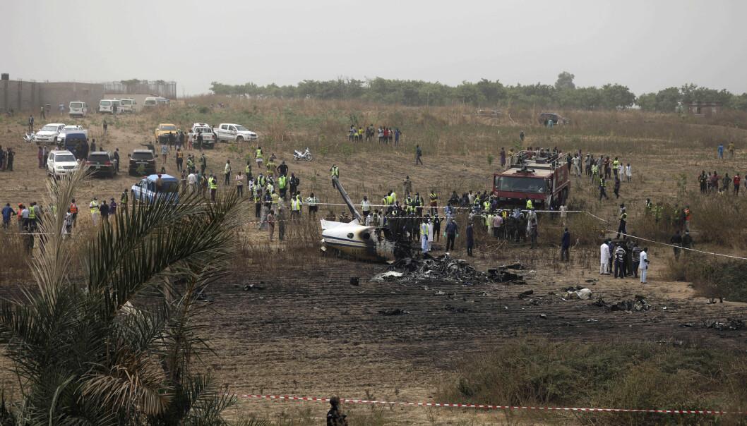 Årsaken til ulykken er ikke kjent, men flyet skal ha hatt motorproblemer.