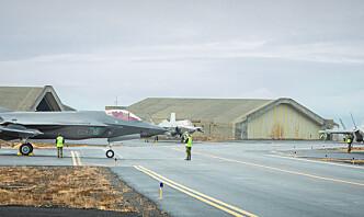 Jordskjelv på Island hvor norsk F-35 er stasjonert: – Vi merket skjelvet