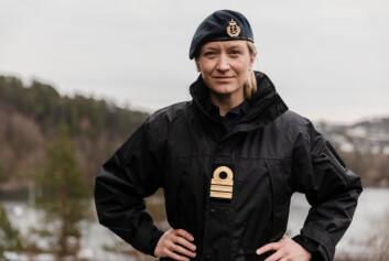 MKN-LEDER: Nina Grimeland leder Militært kvinnelig nettverk, som i disse dager gir sine innspill til uniformsbestemmelsene.