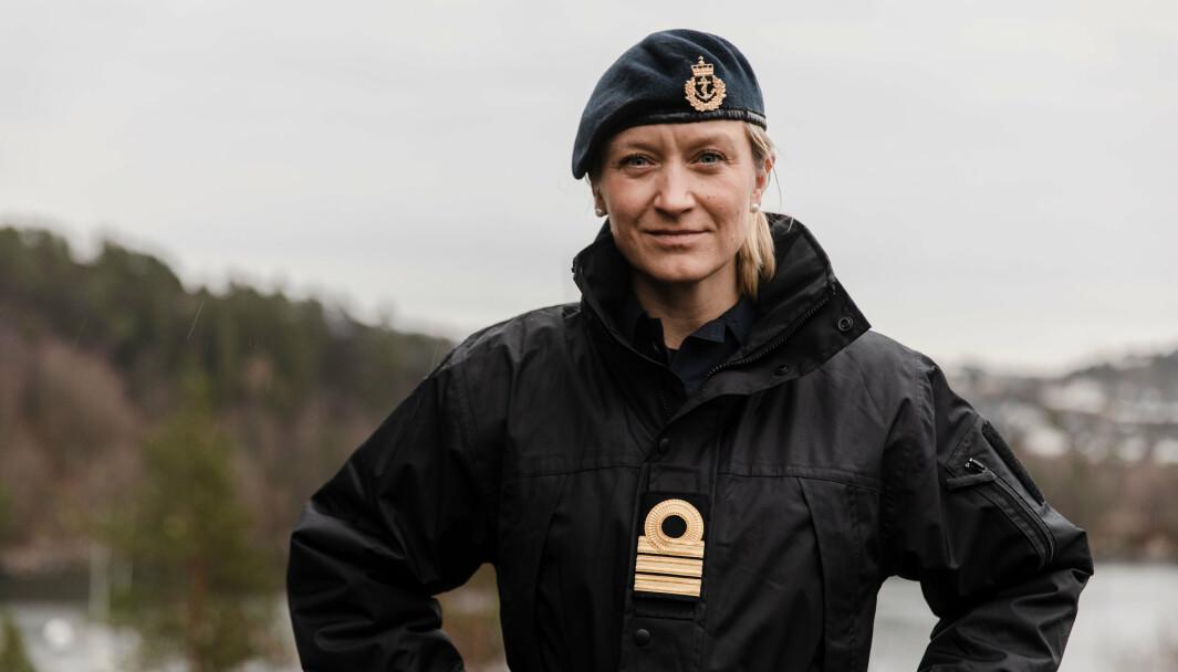VIL HA TILTAK: Nina Grimeland, lederen i Militært kvinnelig nettverk, sier at mobbing og trakassering går ut over rekrutteringen til Forsvaret.