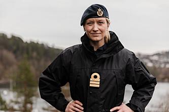 Nina Grimeland, orlogskaptein, leder for Militært kvinnelig nettverk
