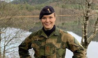 TVO-Anette skulle gjerne delt en feltrasjon med farfarens onkel som deltok i slaget om Narvik, men har selv vært pinlig lite i felt