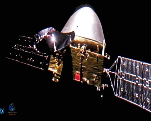 Kinesisk romfartøy i bane rundt Mars