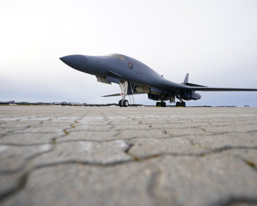 Bombefly på Ørland:- Et svar på Russlands handlinger