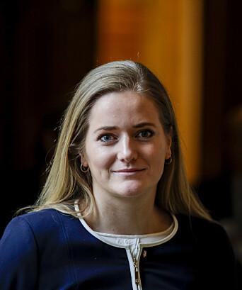 Stortingsrepresentant Emilie Enger Mehl (Sp).