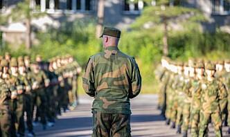 – På tide med språkvask i Forsvaret