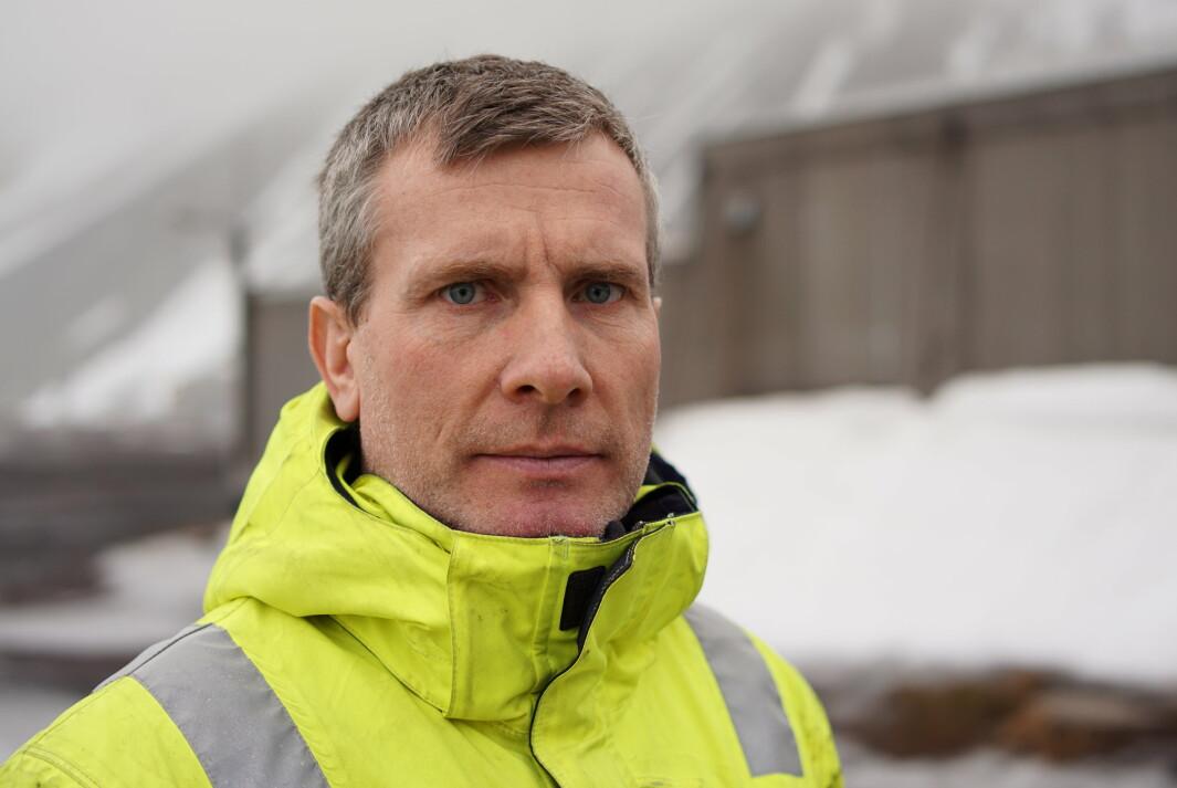 Mekaniker Kai Vikra kom til Jan Mayen høsten 2020. Han kom fra jobben som yrkesskolelærer.