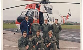 Han hentet Sea Kingen i 1996. Denne uken tok han helikopteret med på dets siste tur.