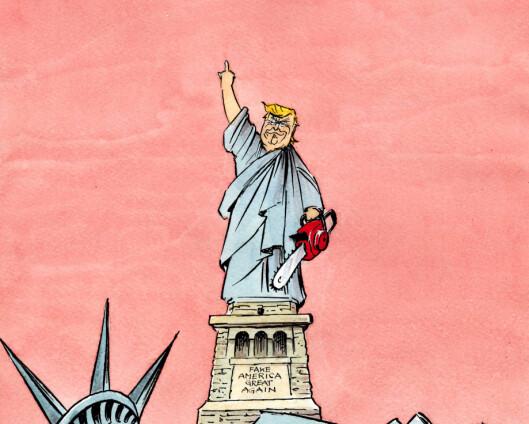 Det er ikke lov å lukke øynene for leksen Trump-årene har lært oss