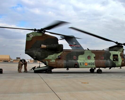Norske soldater i god behold etter rakettangrep mot flybase i Irak