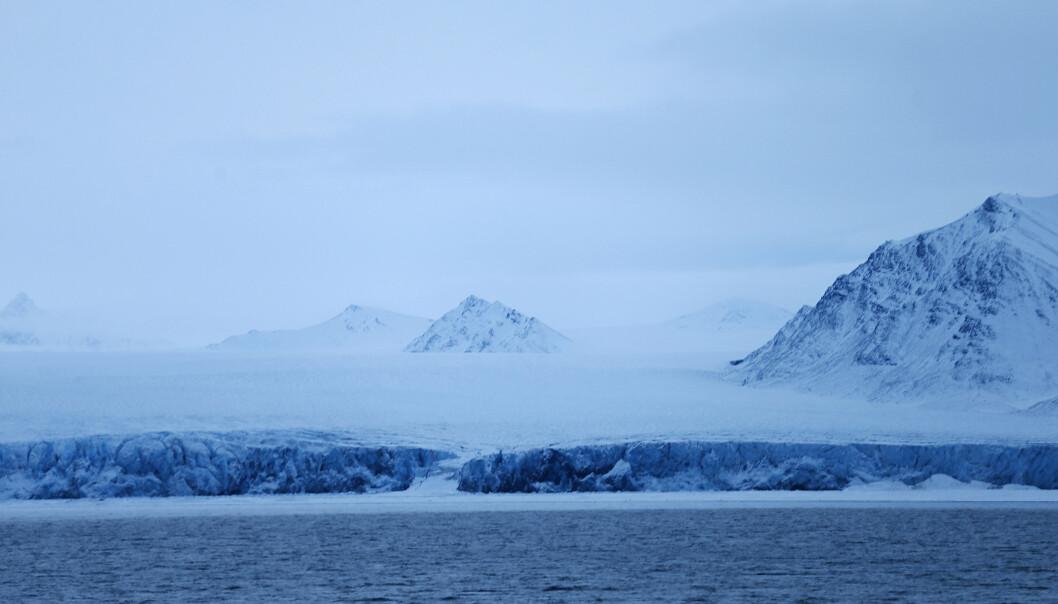 Den geopolitiske rivaliseringen i Arktis har skutt fart de siste årene, skriver Rune Ottosen. Dette bildet er fra Recherchfjorden på Svalbard
