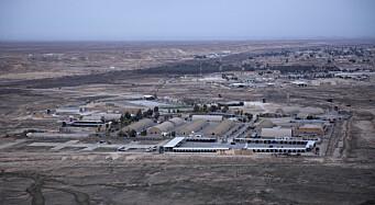 Kilde: Fem såret i rakettangrep mot flybase i Irak