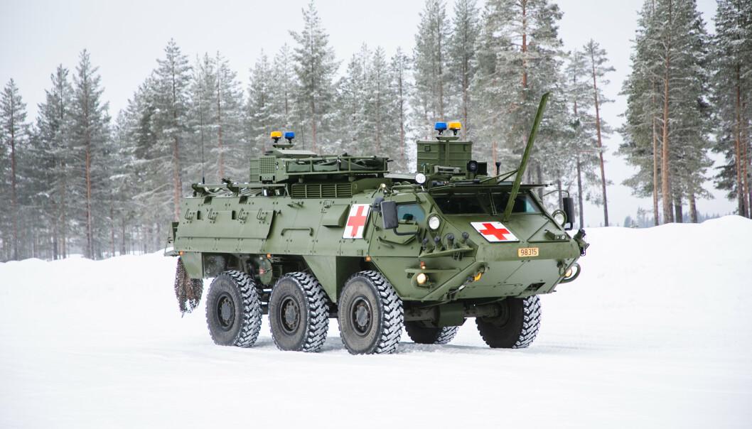 OMBYGD: Forsvarsmateriell har tegnet kontrakt på leveranse av 30 ombygde Patria Pasi XA-203N.