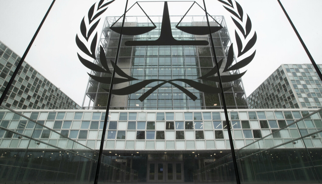 Den internasjonale straffedomstolen ICC ligger i Haag.