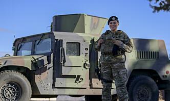 Amerikanske soldater får vester tilpasset kvinnelige soldater