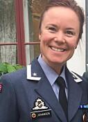 Linn Therece Johansen, oberstløytnant, Luftforsvaret