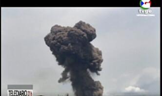 Minst 20 døde og 600 skadd på militærbase i Ekvatorial-Guinea