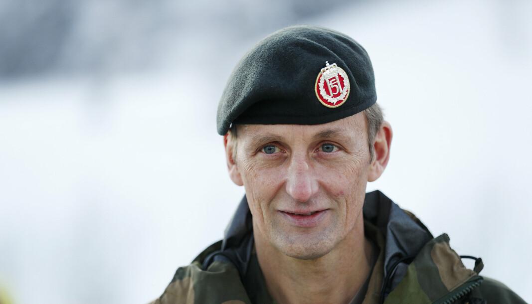 SIKKERHET: Forsvarssjef General Eirik Kristoffersen vil ikke ha leverandører Forsvaret ikke kan ha et sikkerhetssamarbeid med.