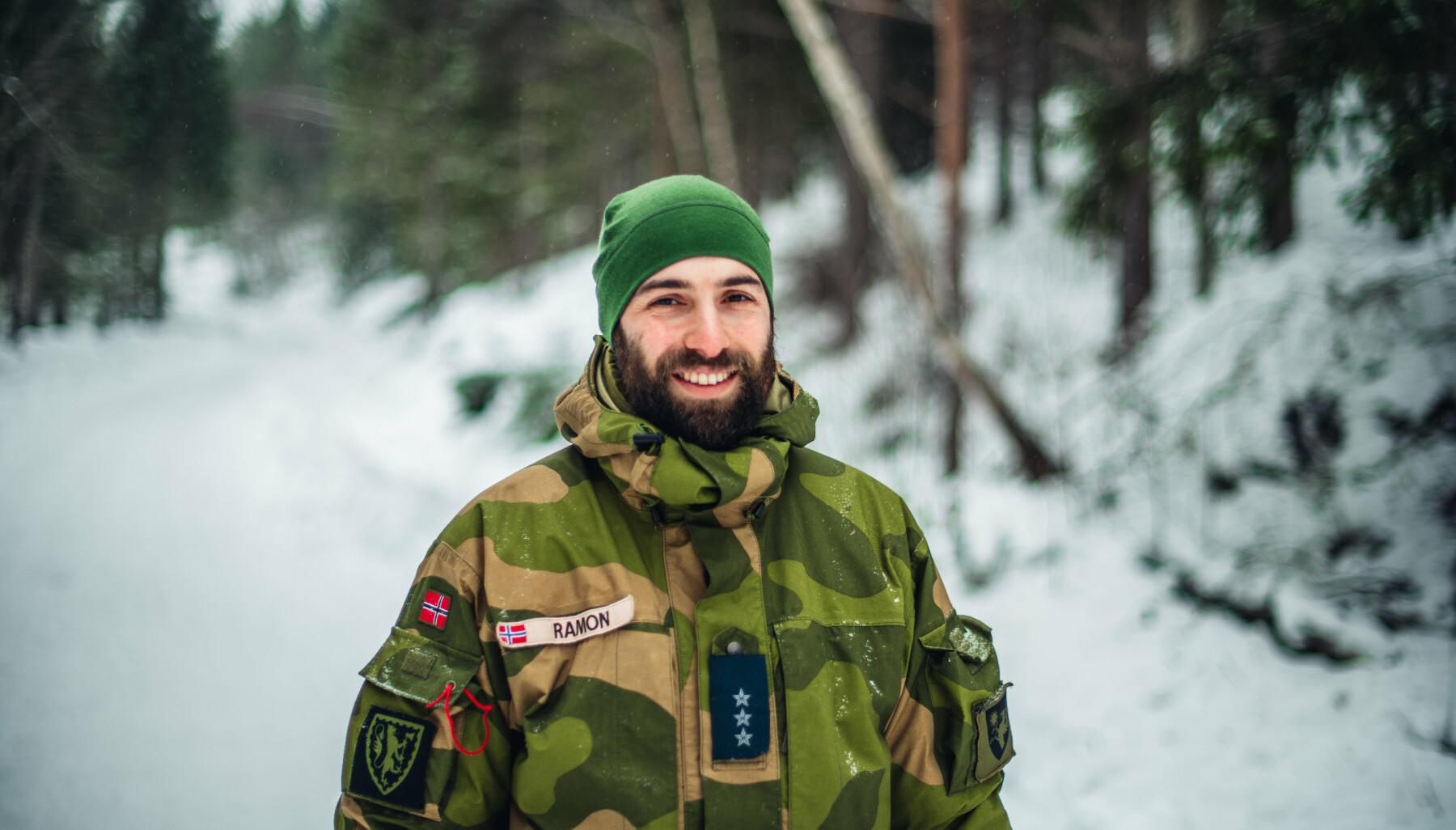Kaptein og kompanisjef for Akershus Kommandantskap, Ramon Karadash.