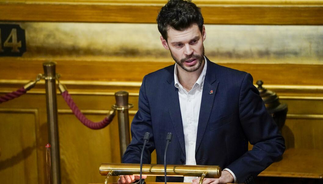 VIL AVGRADERE: Stortingsrepresentant Bjørnar Moxnes (R).