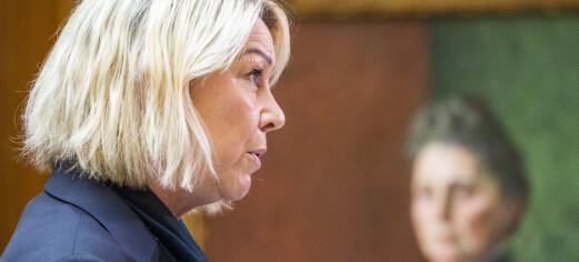 Mæland redegjør i Stortinget om Bergen Engines 23. mars