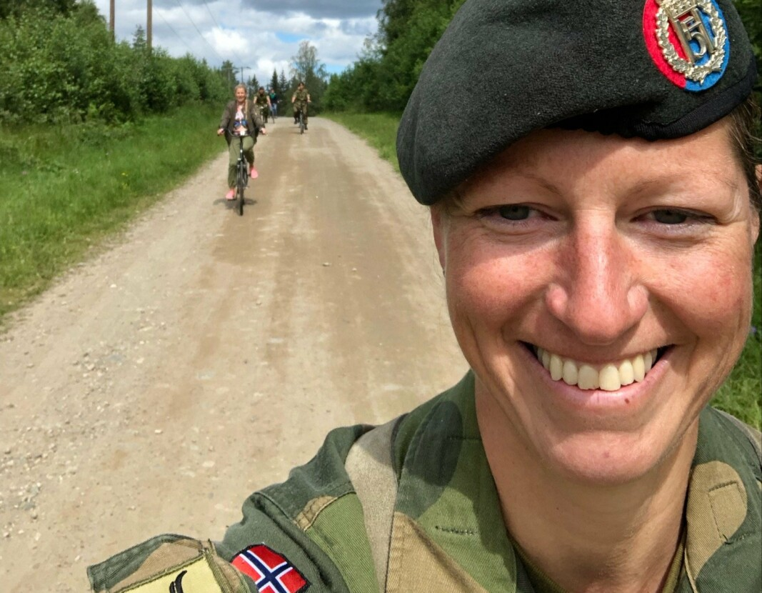 Nina-Sofie Berg blir ny sjef for Stridstrenbataljonen.