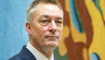 Forsvarsminister Frank Bakke-Jensen (H).