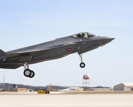 Første danske F-35 har gjennomført jomfrutur