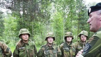Likestilling i Forsvaret: – Vi har kommet langt