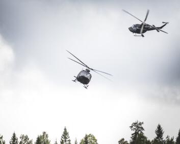 Sju hester fikk panikk under helikopteroverflygning – Luftforsvaret betaler erstatning