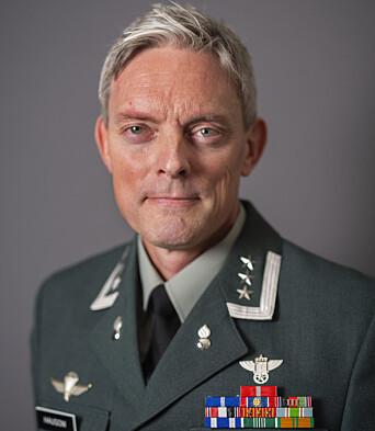 Sjef Forsvarets Vinterskole - oberst Jo Haugom.