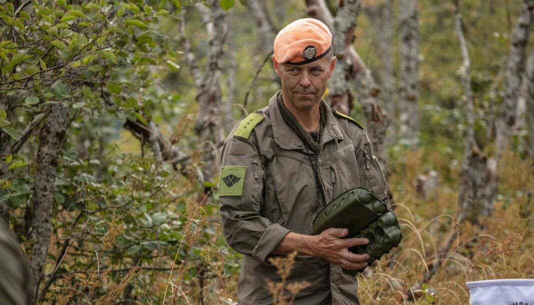 KOMPANI LAURITZEN: John Hammersmark er fallskjermjeger og sluttet i Forsvaret som oberstløytnant i 2015. Nå får han brukt erfaringen som kaptein i Kompani Lauritzen.