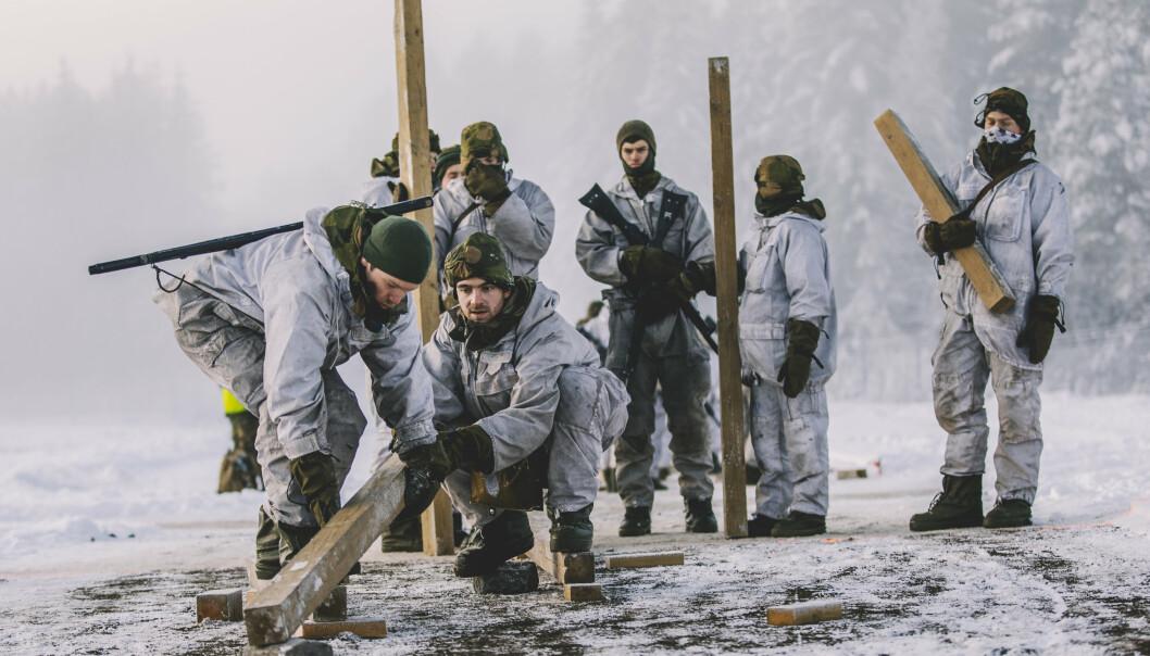 UTSATT: Opptaksprøver til offisersutdanning i Forsvaret er utsatt på grunn av korona.