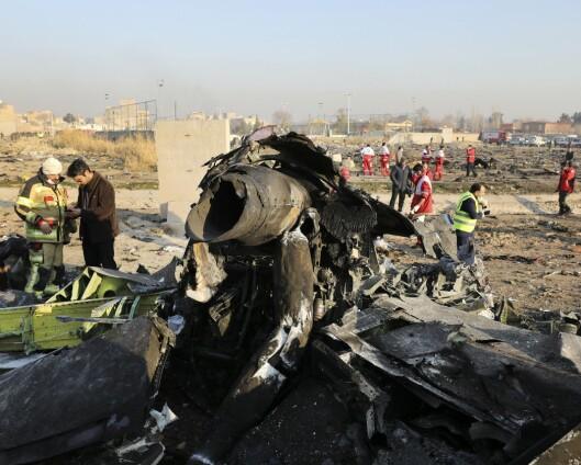 Iransk rapport om flynedskyting frikjenner Revolusjonsgarden