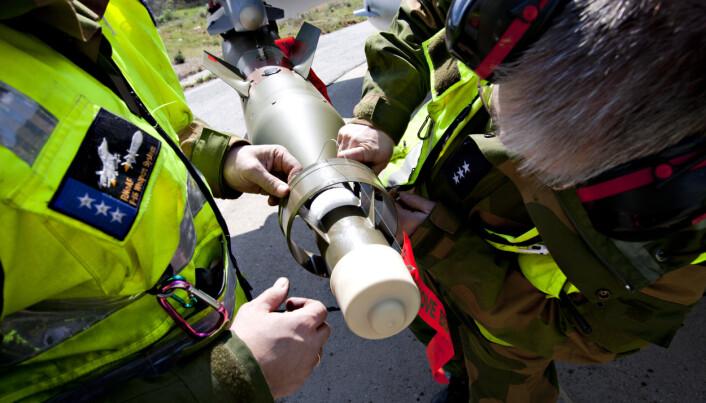 BOMBER: Norske kampfly slapp 588 bomber over Libya våren 2011.