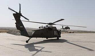 Ni militære døde i helikopterstyrt i Afghanistan