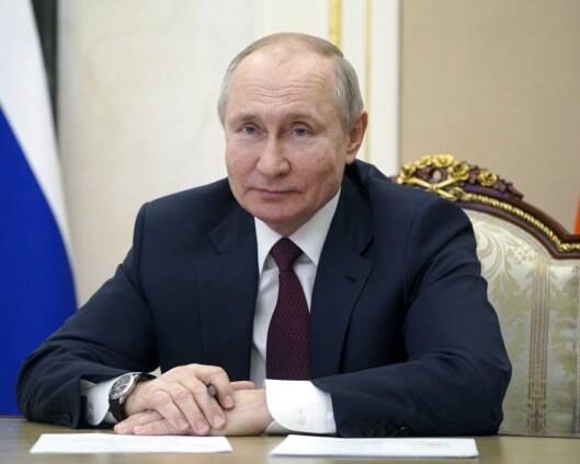 Putin inviterer Biden til videomøte