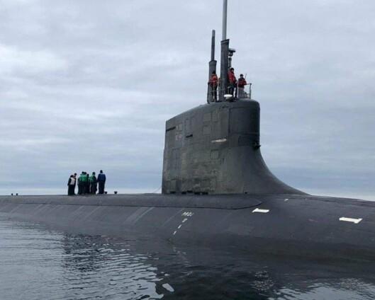 Fem utenlandske atomubåt-anløp i fjor